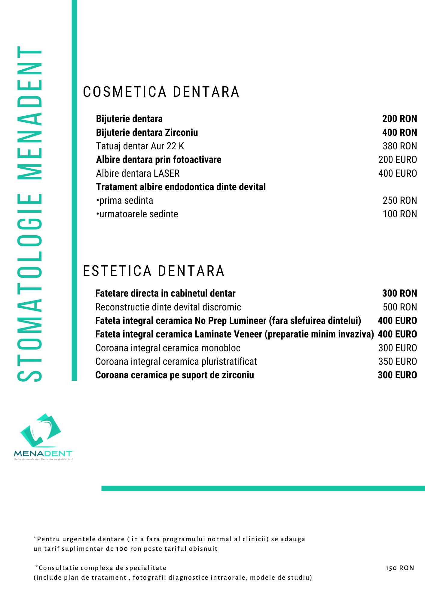 Copy of COSMETICA DENTARA